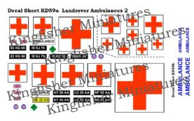 Landrover Ambulances Set 2